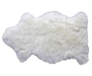 Tapis Peau de mouton, Blanc - 90*60