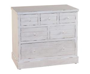 Commode manguier, Blanc - H66