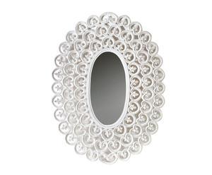 Miroir Bois, Blanc - 120*90