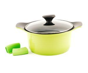1 Marmite TOSCANA Aluminium, vert, L- 29