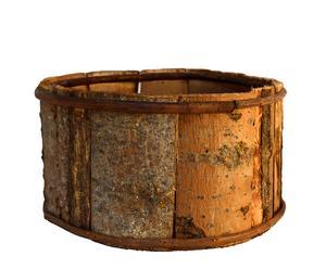 Cache-pot bois de châtaigner, naturel - Ø28