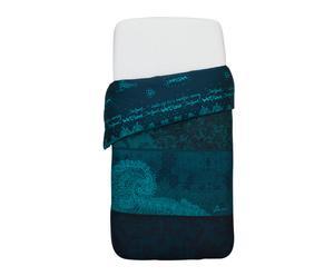 Housse de couette PUNTILLA coton, multicolore - 155*200