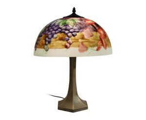 Lampe à poser UVAS cristal tiffany, multicolore - H40