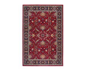 Tapis TATTOO ELSE pure laine, rouge - 60*120