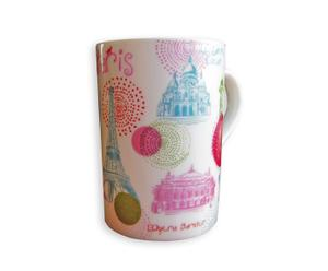 Set de 4 mugs PARIS RONDS