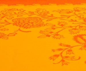 Nappe jaipur coton, orange - 160*250