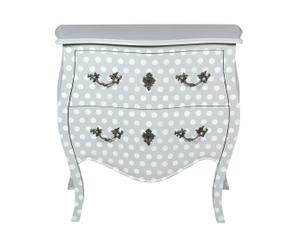 Commode pois, acajou - L80