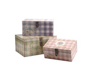 Set de 3 boîtes de rangement