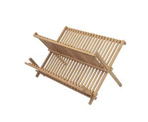 Egouttoir à vaisselle, bambou