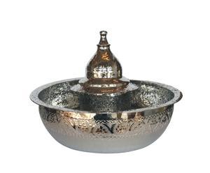 Fontaine bassine en cuivre, Brillant