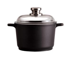 Faitout et Couvercle, Noir - 1.5 L