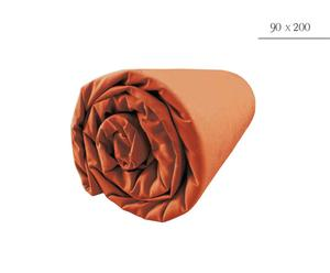 Drap housse, Orange - 90*200