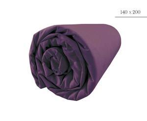 Drap housse, Mauve - 140*200