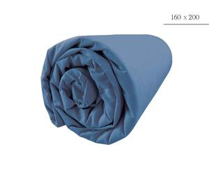 DRAP HOUSSE, bleu clair - 160*200