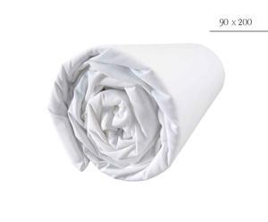 DRAP HOUSSE, blanc - 90*200