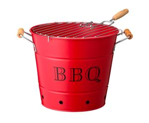 Barbecue portable, rouge