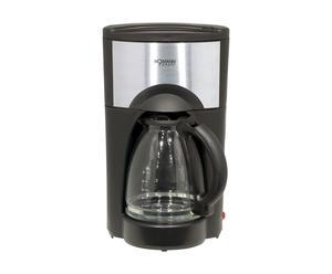 Cafetière inox, noir – H43