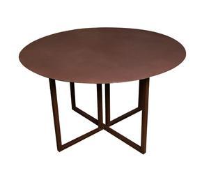 Table pliante APPLE, Rouille