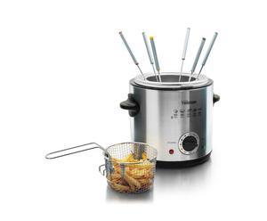 Appareil à fondue, inox - 900W