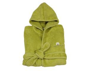 Peignoir, Vert Olive - 18/24 mois