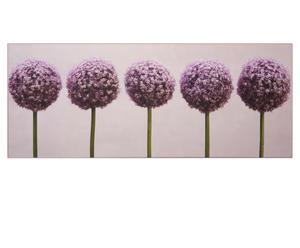 Toile imprimée Fleurs d'Ail - 100*40 cm