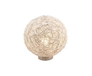 LAMPE BOULE SCOUBIDOU Métal, Blanc - Ø25
