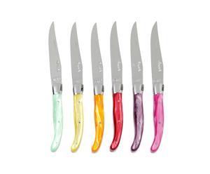 Coffret Laguiole, 6 couteaux