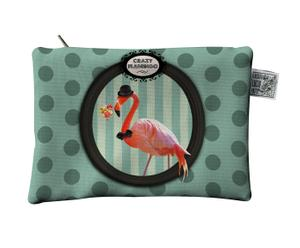 POCHETTE Flamingo - satin