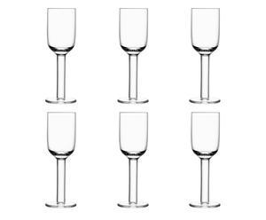 6 Verres à vin blanc Anton