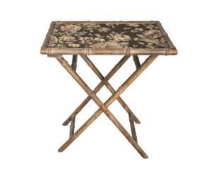 Table pliante, bambou - L69