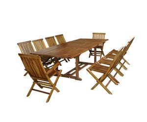 Table et chaises BATAM, Teck