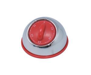 Minuteur Timer, Inox rouge