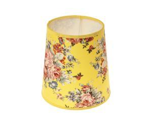 Abat-jour bouquet, jaune - H15