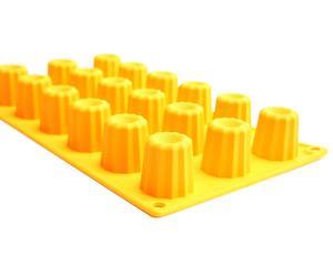 Moule à cannelés, jaune