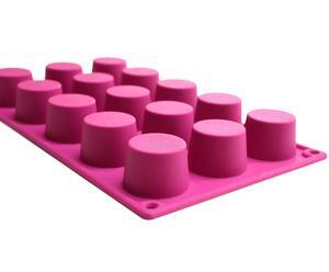 Moule à muffins, rose