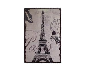 Tableau carte postale paname, Toile - 30*45