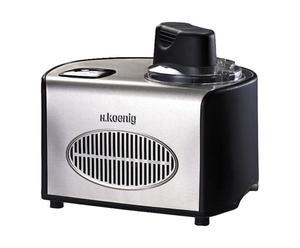 Machine à glace et sorberts, inox et plastique - L36