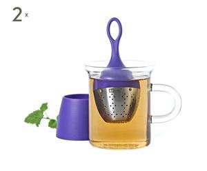 2 Boules à thé IRA, Lilas - Ø4