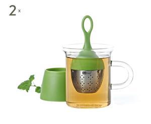 2 Boules à thé ERA, Vert - Ø4