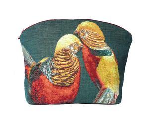 Pochette zippée Coton et Polyester, Multicolore - L20