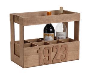 Range bouteille Contreplaqué, Naturel - L30