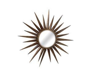 Miroir soleil Métal miroir, Doré - Ø99