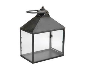 Lanterne Fer, Noir - L42