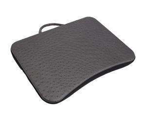 Protection d'ordinateur portable Simili-cuir, Noir - L41