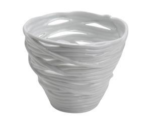 Pot Porcelaine, Blanc - H21