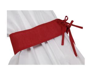Embrase Coton et lin, Rouge - L60