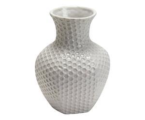 Vase Porcelaine, Blanc - H17