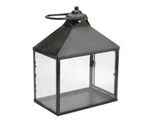 Lanterne Métal, Noir - H42