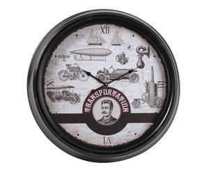 Horloge Métal, Multicolore - Ø63