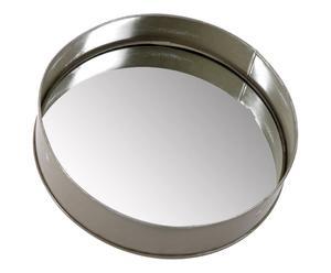 Miroir Metal, Argenté - Ø49
